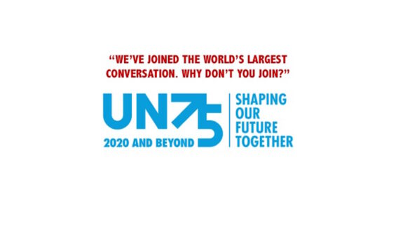 "UN75: ""WE'VE JOINED THE WORLD'S LARGEST CONVERSATION. WHY DON'T YOU JOIN?"""